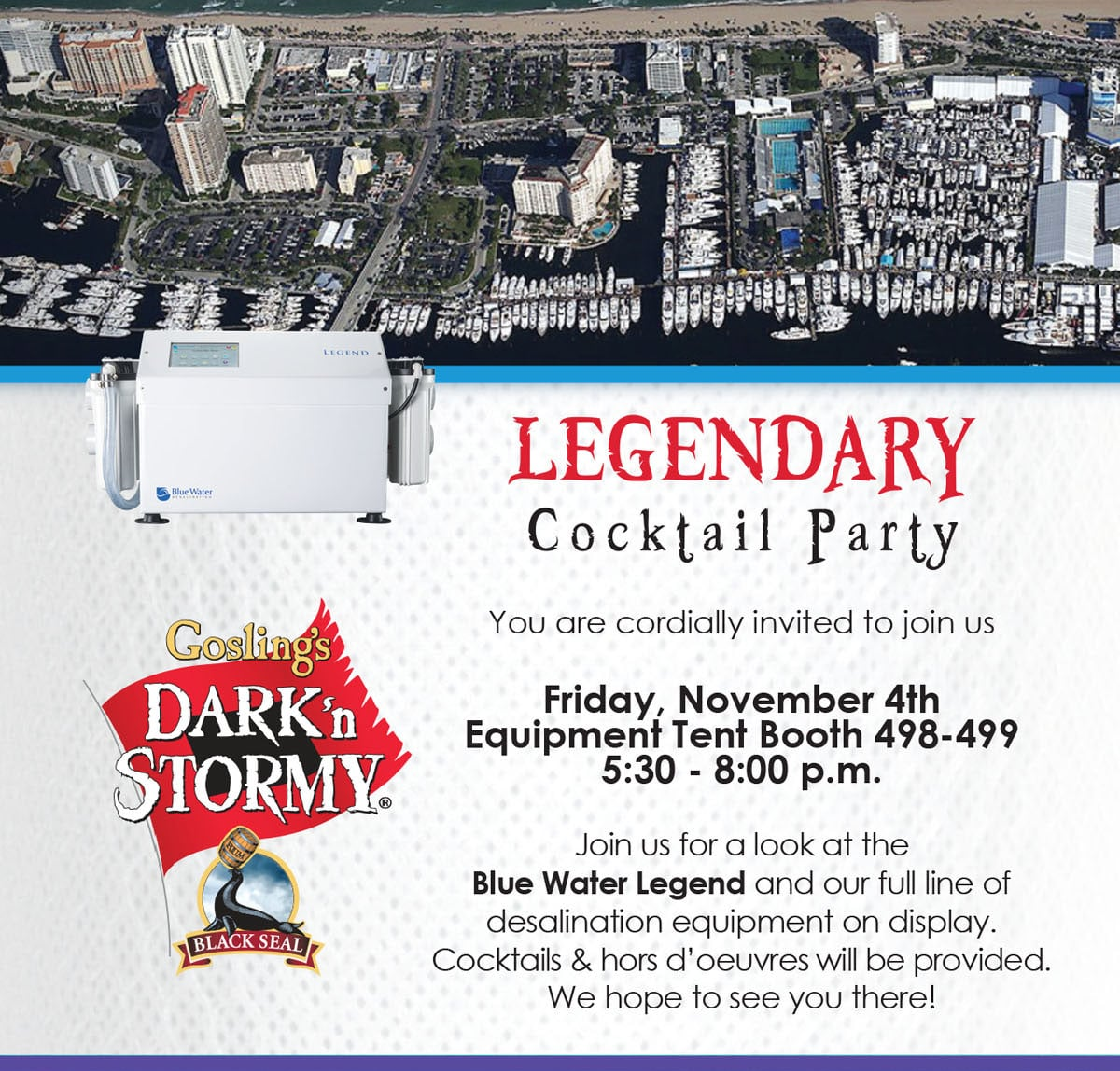 Legendary Cocktail Party