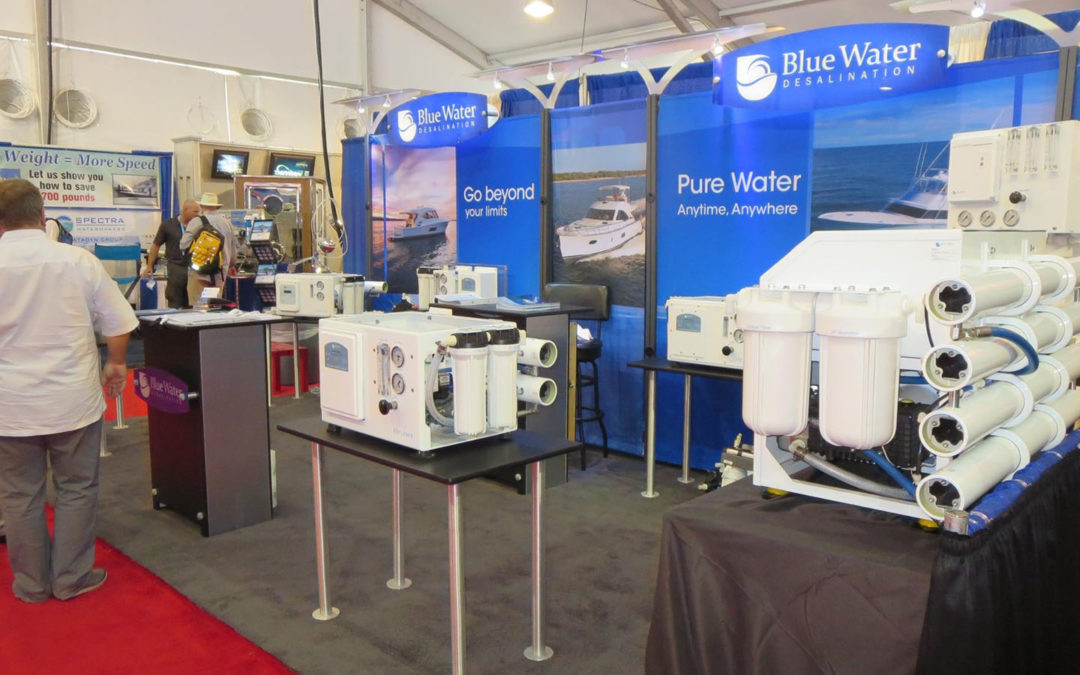 Cutting Edge Watermakers at the Fort Lauderdale Boat Show