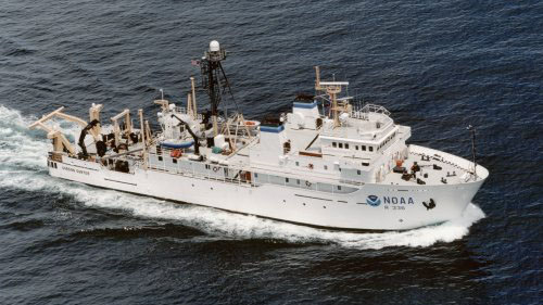 NOAA Research Vessel Gordon Gunter