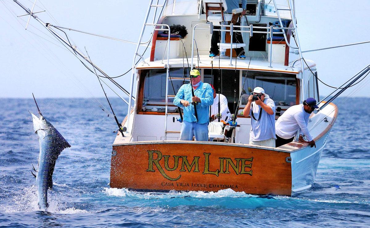 Rum Line fishing