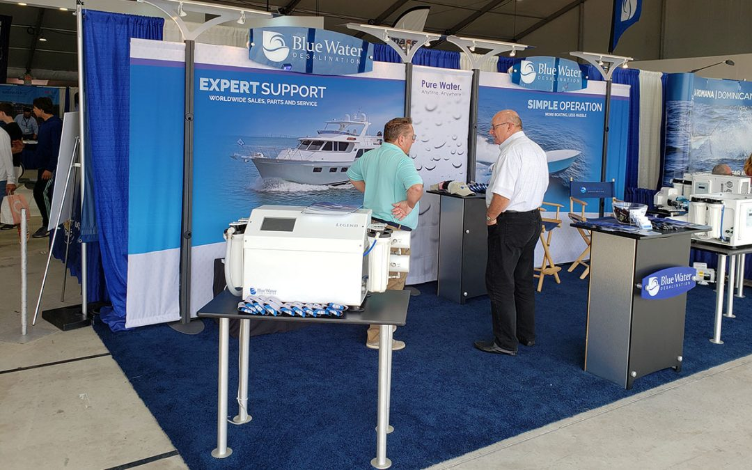 Blue Water Desalination at the Miami Yacht Show